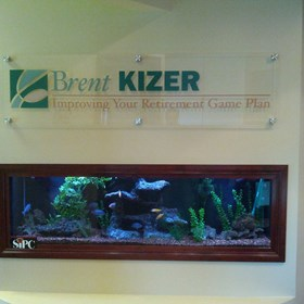 Interior Acrylic Display for Brent Kizer in Barrington, IL